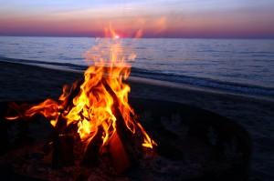 Fire-on-the-Beach