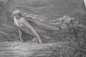 Submersion in Lethe - Gustave Doré