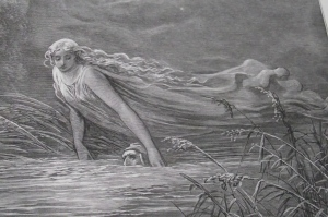 Submersion in Lethe - Gustave Doré