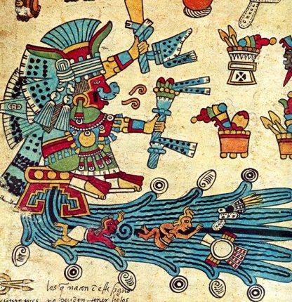 Chalchiuhtlicue - Goddess of Flowing Waters
